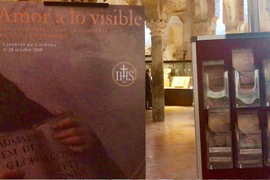 Exposición Amor a lo visible en la Mezquita Catedral de Córdoba