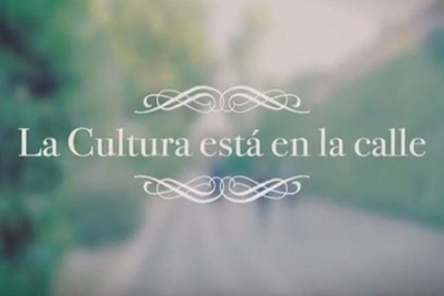 La cultura esta en la calle: presentación